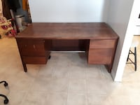 Solid Wood Office Desk. Very heavy