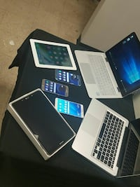 PHONES TABLETS AND LAPTOPS