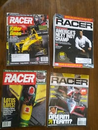 Collection of 'Racer' Magazines from 1992-2011
