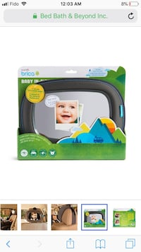 Baby's green and white fisher-price bather 552 km