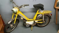 yellow moped motorcycle Windsor, N9E 3T6