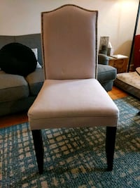 Lavender linen chair Arlington, 22206