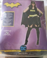 Bat Girl costume (adult size 14-16) - $35 Toronto, M9B 6C4