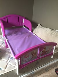 Re-post Toddler bed and baby change stand 08/2018 Calgary, T2K 5E4