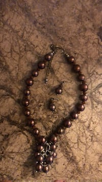 brown and black beaded necklace San Antonio, 78240