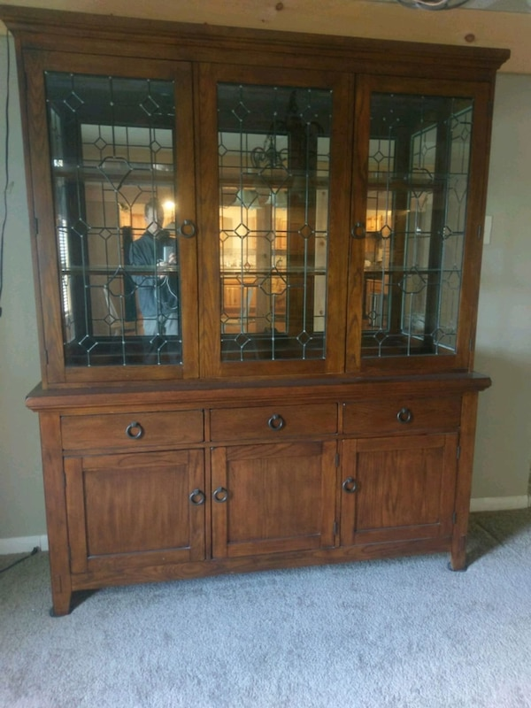 Used Ashley Furniture Prairie View China Cabinet For Sale In Milo
