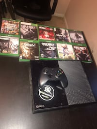 Xbox one console with controller and game case lot Woodbridge, 22193