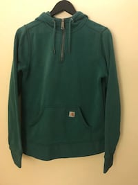 Carhartt quarter zip fits mens small, womens medium Burnaby