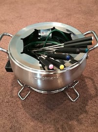 Cuisinart stainless steel foundu set REDUCED to $20