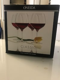 Brand New Set Wine Glasses Silver Spring, 20910