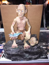 Gollum talking base figure with secret draw to the rear. Includes inter changeable heads.  $25  Fremont pickup  Fremont, 94536