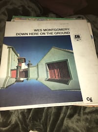 Wes Montgomery: Down Here on the Ground vinyl record  572 mi