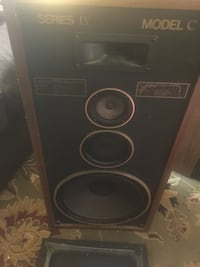 Retro model c speakers in good shape just down sizing  Washington, 20012
