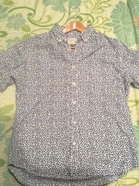 black and white button-up shirt Elk Grove, 95758