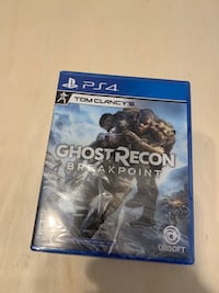 PS4 Ghost Recon Breakpoint, new with pre-order bonus Toronto, M5J 3B2