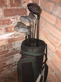 black and gray golf bag Detroit, 48216