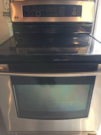 LG Range, convection oven, self-clean