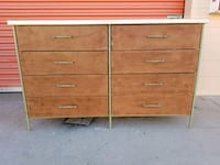brown wooden 6-drawer dresser Huntington Beach, 92647