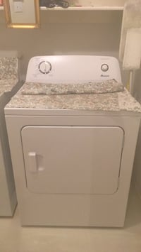 white front-load clothes washer The Colony, 75056