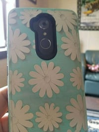 black and green floral iPhone case 2033 mi