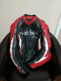 black and red  leather jacket Mississauga, L5N 6G7