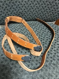 Old 1903 style leather sling  Cudahy, 90201
