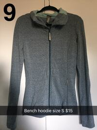 Bench gray zip-up hoodie size S Surrey, V4A 7R5