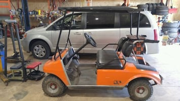 Golf cart clubcar gas runs good offers