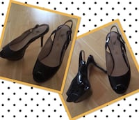 Black high heel shoes - size 6 1/2, worn only twice for a few hours San Diego, 92107