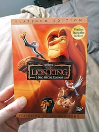 The Lion King! Dvd special edition Ottawa, K1H 5N7