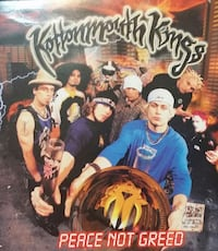 """Kottonmouth Kings 7"""" vinyl Peace Not Greed / Coffe"""