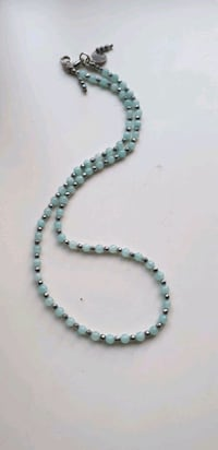 Aquamarine and Hematite necklace  Greater London, W12 9DW