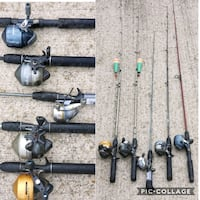 Fishing poles  Katy, 77449