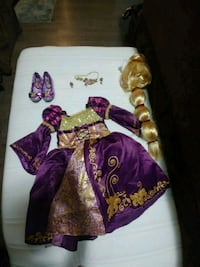 Repunzel costume girls size 4 from Disney store Langley Township, V2Y 0N6