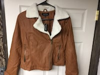 New with tags. Brown and white parka. Thick winter jacket!
