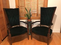 Antique  high back chairs Montréal, H3K