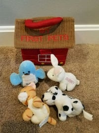 My first pets plush toys. Billerica, 01821