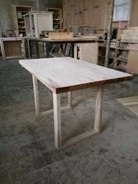 Unfinished table