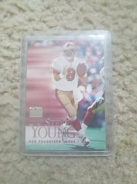 steve young collectible card Fresno, 93706