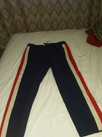 black and red adidas pants Dunwoody, 30338