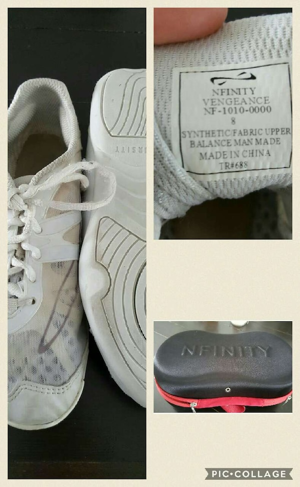 0cc4151e141d Used Nfinity Vengeance Cheer Shoes for sale in North Ridgeville - letgo