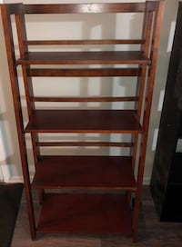 Tower folding bookcase