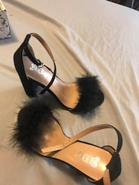 women's black and brown leather sandals Temple Terrace, 33637