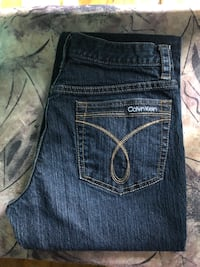 New- Ladies 26/30 Calvin Klein Flare Jeans $3