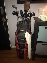 black and red golf bag Spring Valley, 91977