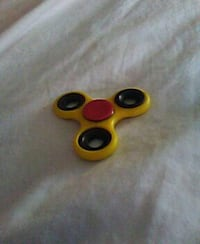 yellow and black 3-blade fidget spinner North Charleston, 29406