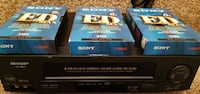Sharp VCR Working ! with 3 NEW Blank VHS tapes - No Remote  Sharp VC-H820U VHS VCR 4 Head Hi-Fi   Tested and Working! - No Remote  Pick-up in Newmarket   (Ref # VCR Lot # 6) Newmarket