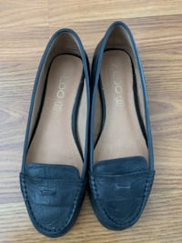 ALDO Black Leather flats Vancouver