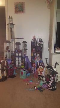 Monster High doll toy set Woodbridge, 22194