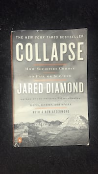 Collapse by Jared Diamond  College Park, 20740